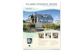Coastal Real Estate - Flyer