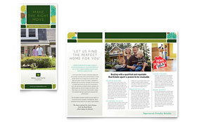 Real Estate - Tri Fold Brochure Template