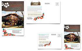 Vacation Rental - Postcard Template