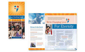 Evangelical Church - Brochure Template