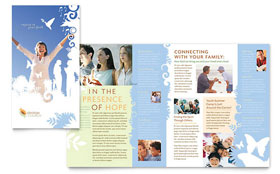 Christian Church - Microsoft Word Brochure