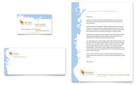 Christian Church - Business Card & Letterhead Template