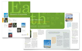 Environmental & Agricultural Non Profit - Brochure