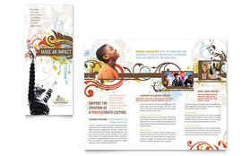 Church Youth Group - Adobe InDesign Brochure