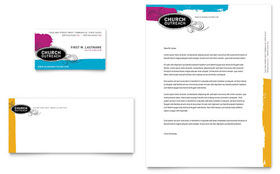 Church Outreach Ministries - Business Card & Letterhead