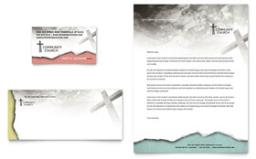 Bible Church - Letterhead Template