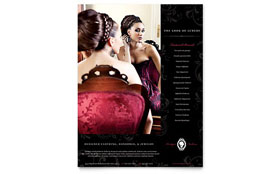 Formal Fashions & Jewelry Boutique - Flyer Template