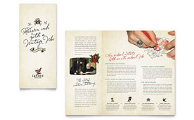 Body Art & Tattoo Artist - Apple iWork Pages Brochure