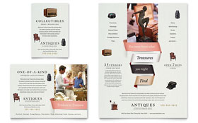 Antique Mall - Flyer & Ad Template