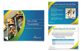 Sports & Health Club - Microsoft PowerPoint