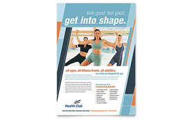 Health & Fitness Gym - Flyer
