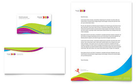 Personal Trainer - Business Card & Letterhead