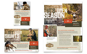 Hunting Guide - Flyer & Ad Template