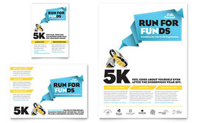 Charity Run - Print Ad