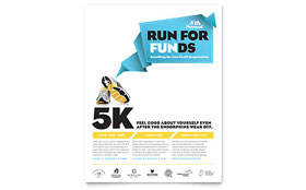 Charity Run - Flyer