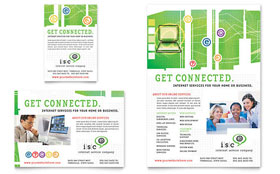 ISP Internet Service - Flyer & Ad