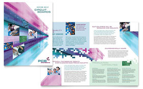 High-Tech Manufacturing - Brochure Template