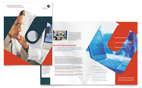 Computer Software Company - Brochure