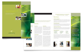 Internet Marketing - Microsoft Word Brochure Template