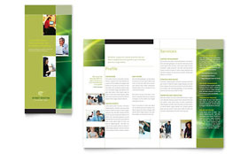 Internet Marketing - Tri Fold Brochure