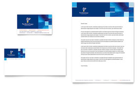 Technology Consulting & IT - Business Card & Letterhead