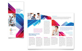 Software Solutions - Tri Fold Brochure