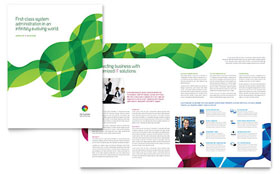 Network Administration - QuarkXPress Brochure Template
