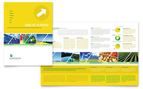 Environmental Conservation - Microsoft Word Brochure Template