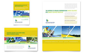Environmental Conservation - Flyer & Ad