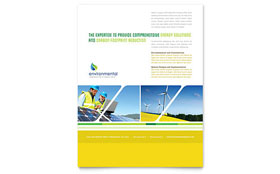 Environmental Conservation - Flyer Template