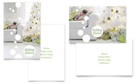 Christmas Dreams - Greeting Card Template