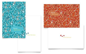Christmas Confetti - Greeting Card