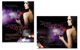 New Year Celebration - Poster