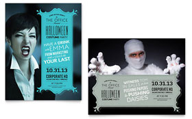 Halloween Costume Party - Poster Template