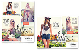 Casual Clothing - Sale Poster Template