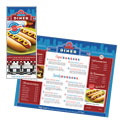 American Diner Restaurant Take-out Menu Template